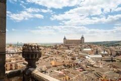 Widoki dziejowy Toledo miasteczko, Spain Zdjęcie Stock