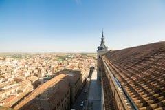 Widoki dziejowy Toledo miasteczko, Spain Fotografia Stock
