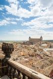 Widoki dziejowy Toledo miasteczko, Spain Fotografia Royalty Free
