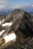 Widoki Espadas szczyt i swój grań Obraz Stock