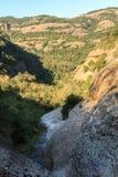 Widoki górscy od kanału Obraz Stock