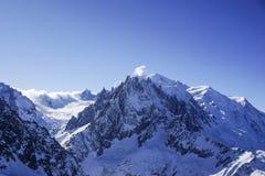 Widoki górscy w Chamonix Zdjęcie Royalty Free