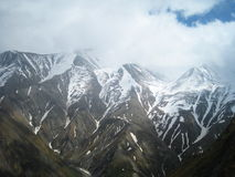 Widoki góry Kaukaz fotografia stock