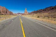 Widoki krajobrazowy pobliski RN 25, Patagonia, Argentyna Obrazy Stock