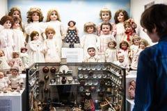 Widoki lale w Spielzeugmuseum zabawki muzeum obraz stock
