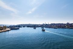 Widoki miasto Istanbuł obrazy royalty free