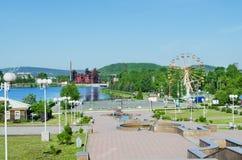 Widoki miasto Nizhny Tagil Fotografia Stock