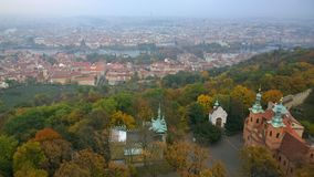 Widoki Praga fotografia royalty free