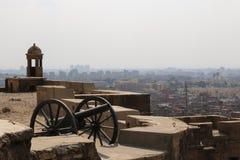 Widoki przez Kair od cytadeli cairo Egipt Obraz Royalty Free