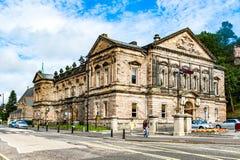 Widoki Stirling i zabytki Robert William i Bruce obrazy royalty free
