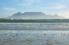 Widoki Stołowa góra przy świtem Zdjęcie Stock