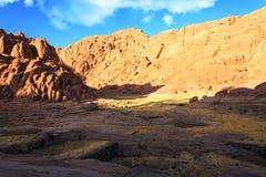 Widoki Synaj góry Obraz Royalty Free