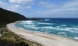 Widoki Walpole wpusta zachodnia australia na chmurnym dniu fotografia royalty free