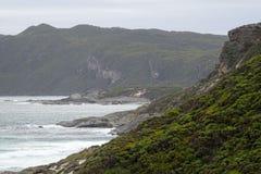 Widoki Walpole wpusta zachodnia australia na chmurnym dniu fotografia stock