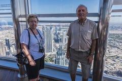Widoku śródmieście Dubaj Zdjęcie Stock