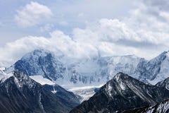 Widoku górskiego ` bieługi ` przepustki ` Kara-Turek ` fotografia royalty free