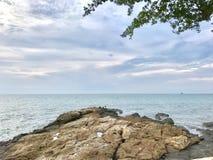 widoku morze Fotografia Royalty Free