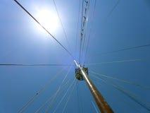 Widoku niebo od statku Fotografia Stock