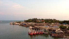 Widoku Piękny most w Rayong, Tajlandia Obrazy Stock