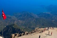 Widoku punkt na górze Tahtali Obraz Stock