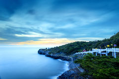 Widoku punkt na Si Chang wyspie Fotografia Royalty Free