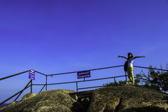 Widoku punkt przy Koh Samui zdjęcia stock