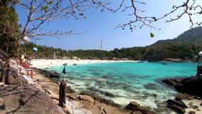 Widoku punkt Racha wyspa, Phuket zbiory wideo