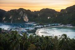 Widoku punktu Koh Phi Phi 2 zdjęcia royalty free