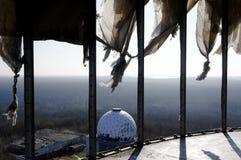Widoku Teufelsberg słuchania stacja zdjęcia royalty free