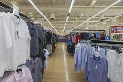 Widoku wnętrze Tesco Lotus supermarket Zdjęcia Royalty Free