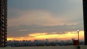 Widoku wschód słońca zdjęcia royalty free