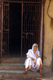 Widow in India Stock Images