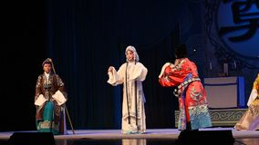 "The widow request the war- Beijing Opera"" Women Generals of Yang Family"" stock video footage"