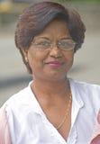 widowisko dwuogniskowa kobieta Zdjęcia Royalty Free