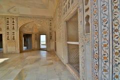 widowni sala społeczeństwo Agra Fort Agra, Uttar Pradesh indu Zdjęcia Royalty Free
