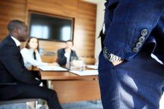Widownia Słucha prezentacja Przy konferencją Zdjęcie Stock