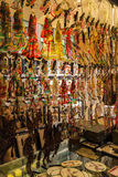 Width alley shops in chengdu Stock Images