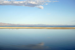 Width of the Salton Sea Royalty Free Stock Photography