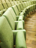 Widzów siedzenia Zdjęcia Stock