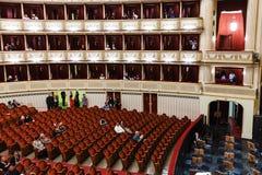Widz w sala Wiedeń stanu opera Zdjęcia Royalty Free