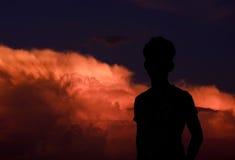 Widzieć chmurę Obraz Royalty Free