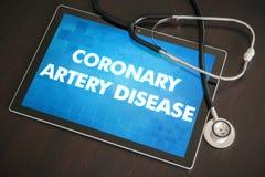 Wieńcowej arterii choroby diagnozy medyczny conce (kierowy nieład) obraz stock