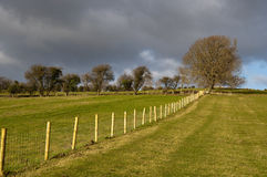 wieś brytyjski krajobraz Fotografia Stock