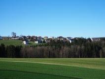 Wieś Linz, Austria czysty i pokojowy obrazy royalty free