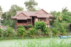 wieś mieści Thailand Zdjęcie Royalty Free