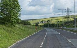 Wieś przy Bodelwyddan kasztelem w Północnym Walia Fotografia Royalty Free