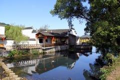 Wieś widok, Południowo-zachodni Chiny Zdjęcie Royalty Free