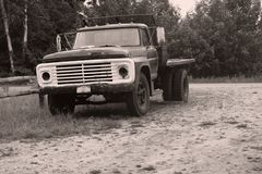 wieśniak ciężarówka Zdjęcie Stock