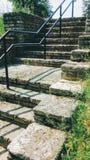 Wieśniaka kamienny schody obrazy stock