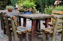 Wieśniaka ogródu stół Obrazy Stock
